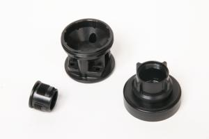 Plastic Injection Molded Threaded Parts and Unwinding Molds